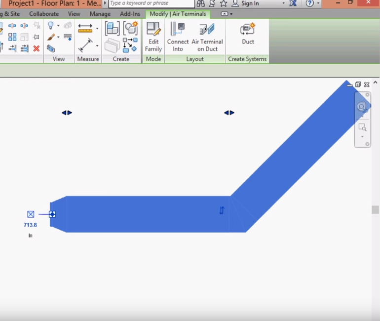BIM objects for textile based ventilation